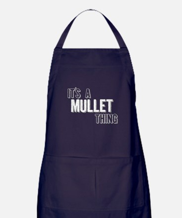 Its A Mullet Thing Apron (dark)