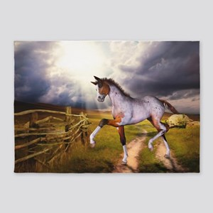 The Little Foal 5'x7'Area Rug