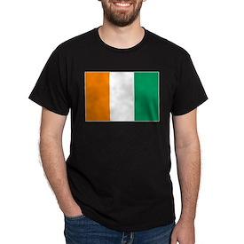 Côte d'Ivoire Flag T-Shirt