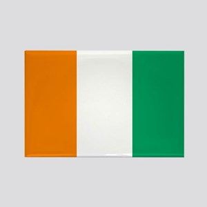 Côte d'Ivoire Flag Rectangle Magnet