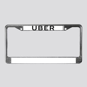 Uber Logo License Plate Frame
