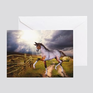 The Little Foal Greeting Cards