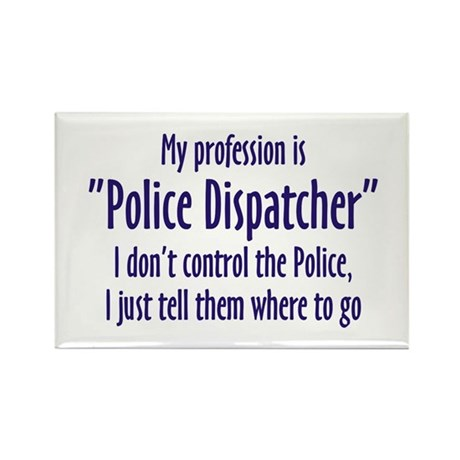 Dispatcher Rectangle Magnet (100 pack)