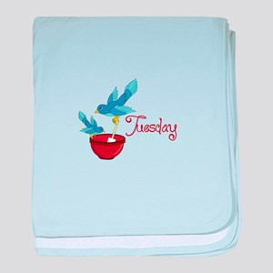 Tuesday baby blanket