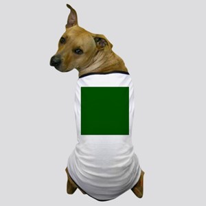 Dark green solid color Dog T-Shirt