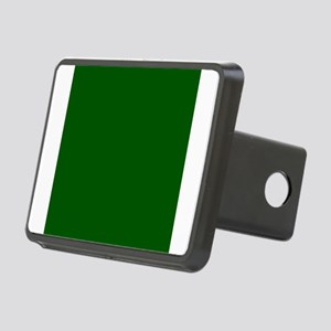 Dark green solid color Rectangular Hitch Cover