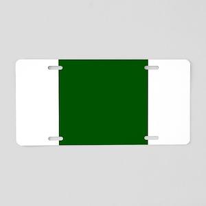 Dark green solid color Aluminum License Plate
