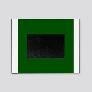 Dark green solid color Picture Frame