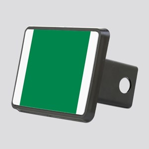 Green solid color Rectangular Hitch Cover