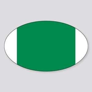 Green solid color Sticker