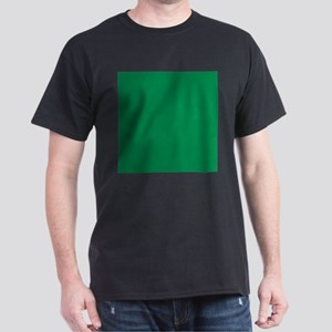 Green solid color T-Shirt