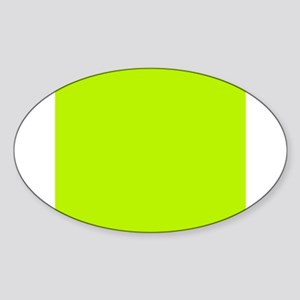 Lime Green solid color Sticker