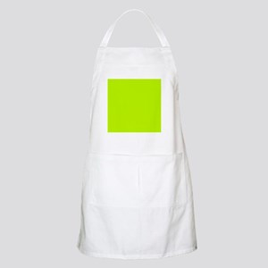 Lime Green solid color Apron