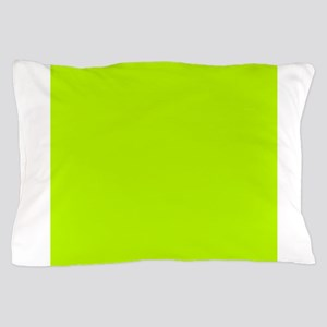 Lime Green solid color Pillow Case