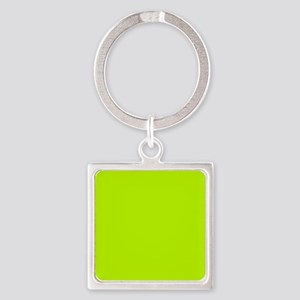Lime Green solid color Keychains