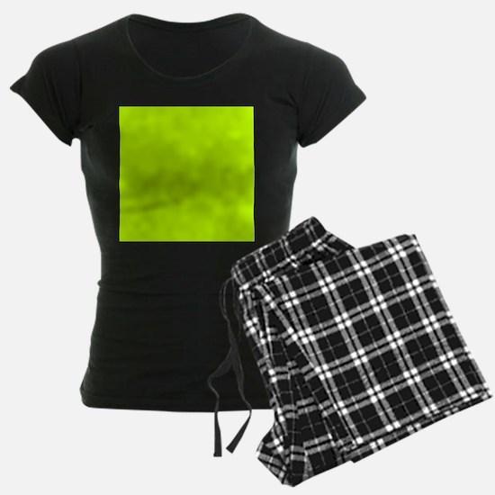 Lime Green solid color pajamas