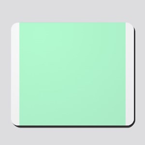 Mint Green solid color Mousepad