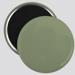 Moss Green solid color Magnets