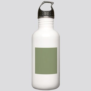 Moss Green solid color Sports Water Bottle