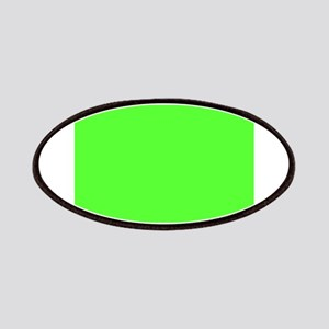 Neon Green solid color Patches