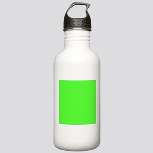 Neon Green solid color Sports Water Bottle