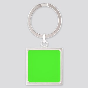 Neon Green solid color Keychains