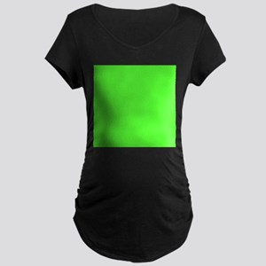 Neon Green solid color Maternity T-Shirt