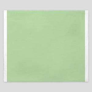 Sage Green solid color King Duvet