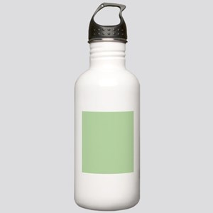 Sage Green solid color Sports Water Bottle