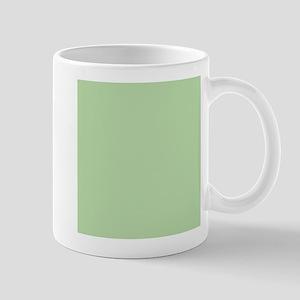 Sage Green solid color Mugs