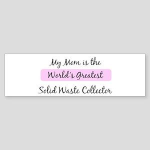 Worlds Greatest Solid Waste C Bumper Sticker