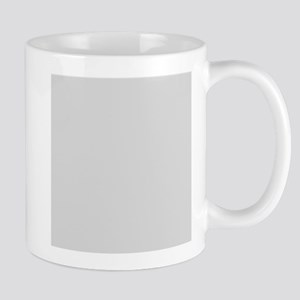 Light Gray solid color Mugs