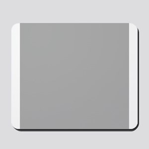 Grey Solid Color Mousepad