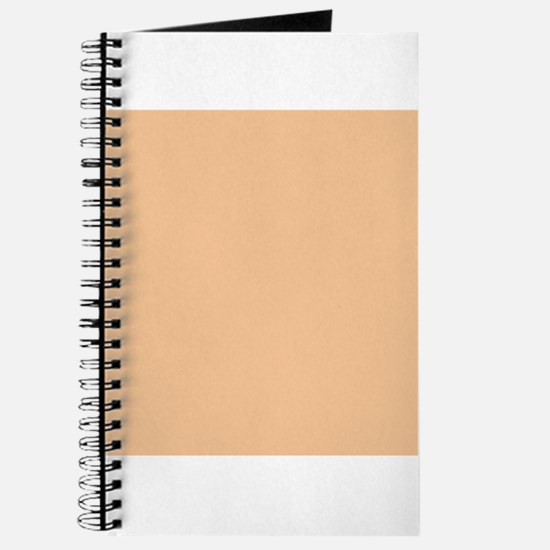Apricot Solid Color Journal
