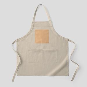 Apricot Solid Color Apron