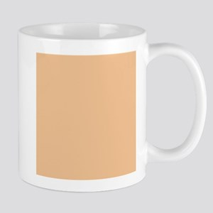 Apricot Solid Color Mugs