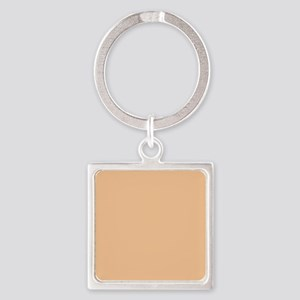 Apricot Solid Color Keychains