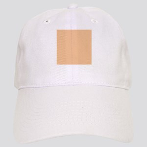 Apricot Solid Color Cap
