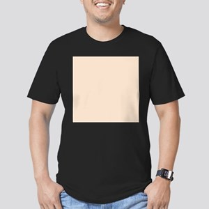 Peach Solid Color T-Shirt