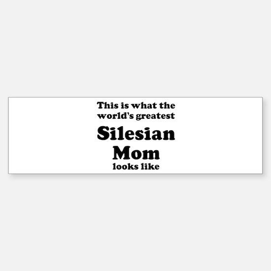 Silesian mom Bumper Car Car Sticker