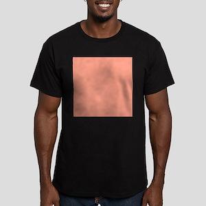 Coral Orange Solid Color T-Shirt