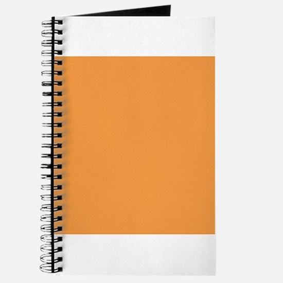 Orange Solid Color Journal