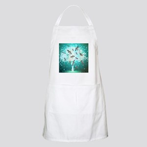 Dragonfly Glow Tree Apron