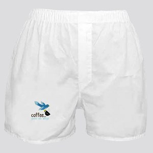 Coffee Gives Me Wings Boxer Shorts