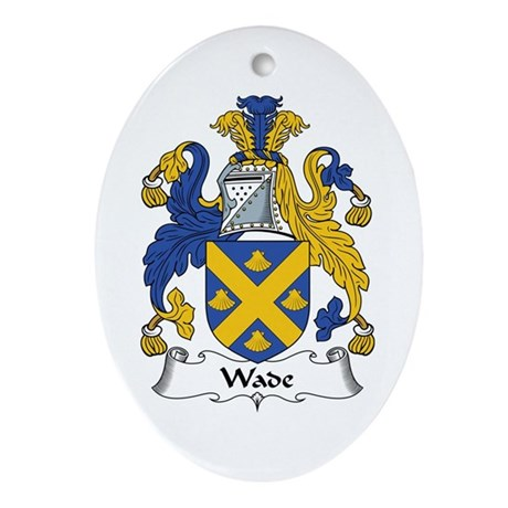 Wade Oval Ornament