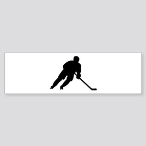 Hockey player Sticker (Bumper)