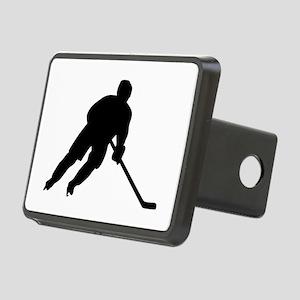 Hockey player Rectangular Hitch Cover