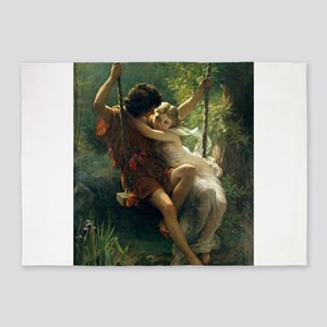 Spring of Pierre Auguste Cot 5'x7'Area Rug