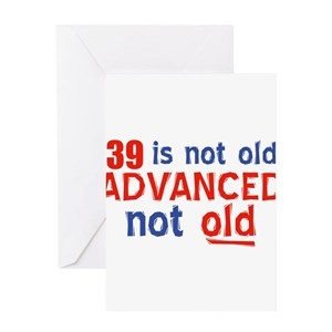 39th birthday greeting cards cafepress