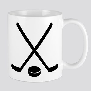 Hockey sticks puck Mug